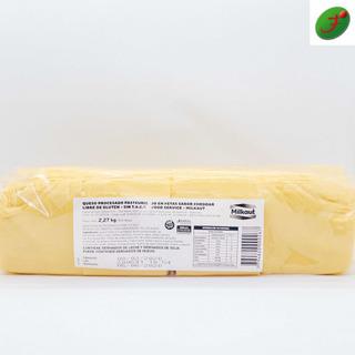 Barra De Queso Cheedar Milkaut Feteado Apto Celiacos