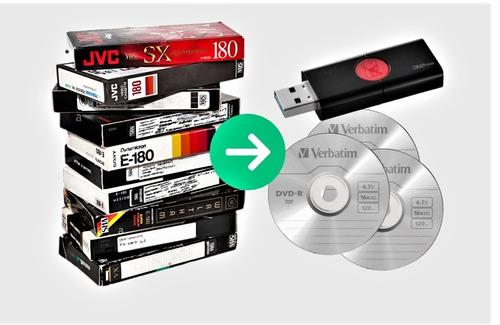 Digitalizar Vídeos Y Casetes - Adaptador Vhs-c - Leer