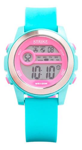 Reloj Strike Watch Resina M1196-0geb-rdbu Mujer Original