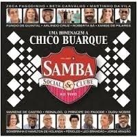 Cd Samba Social Clube - Homenagem A Chico Buarque (novo!)