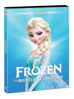 Dvd Frozen / Clásico Animado Disney No. 50