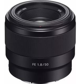 Sony Fe 50mm F1.8 Sel50f18f Montura E Full Frame * Usd340