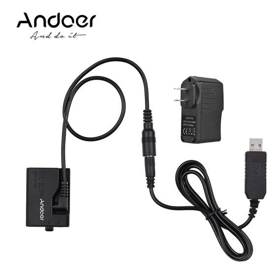 Andoer Ack-e10 5v Usb Dummy Bateria Dc Acoplador (substitui¿