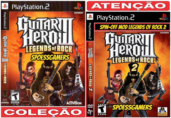 Guitar Hero 3 Legends Of Rock 1 E 2 Ps2 Spin-off Patch Me