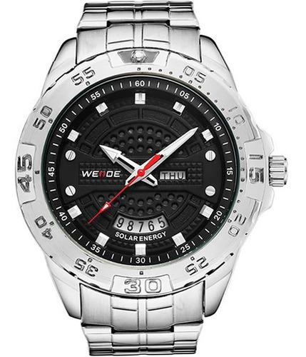 Relógio Masculino  Weide Prata Se0706-1c