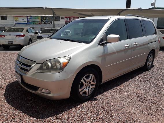Honda Odyssey 2006 Touring Plata