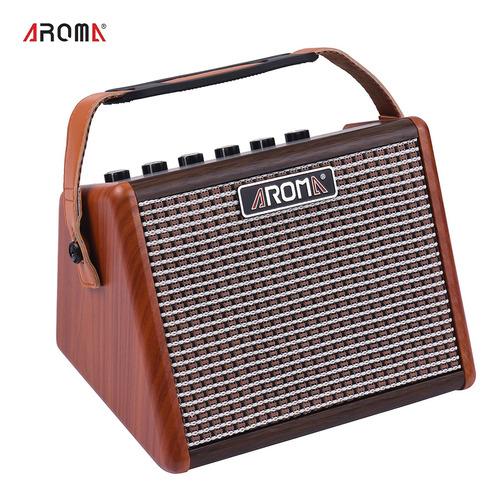 Amplificador Portátil Aroma Ag-15a Para Guitarra Acústica