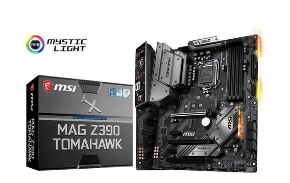 Placa Mãe Msi Mag Z390 Tomahawk Intel 1151 Ddr4 8ª E 9ª Ger