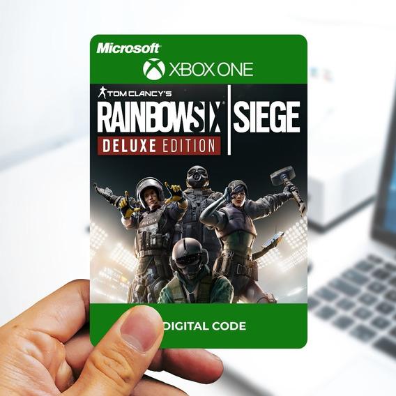 Rainbow Six Siege Deluxe Edition - Cartão 25 Dígitos