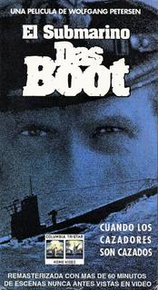 El Submarino Das Boot - Dir. Wolfgang Petersen - 2 Vhs
