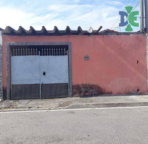 Casa Com 1 Dormitório À Venda, 40 M² Por R$ 118.000,00 - Jardim Santa Marina - Jacareí/sp - Ca0161