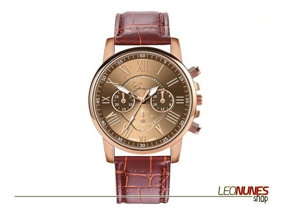 Relógio Elegante, Luxo, Fashion + Estojo! Promoção! Barato!