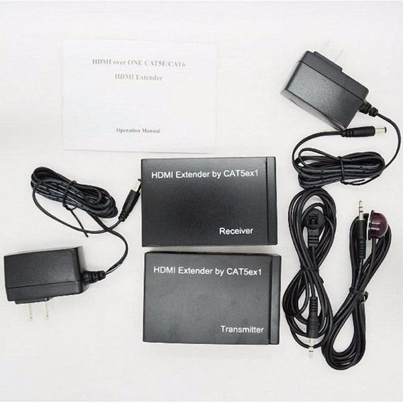 Extensor De Controle Remoto Hdmi 100 M Cat5/6 Fullhd 1080p