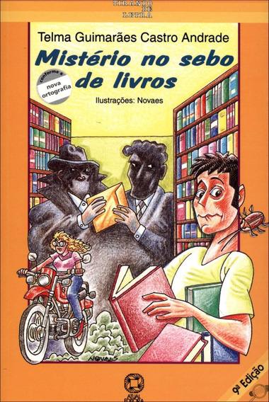 Mistério No Sebo De Livros - Conforme A Nova Ortografia - C