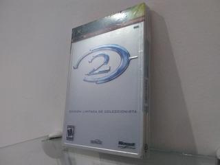 Halo 2 Edición Coleccionista Mexicana Cerrada Xbox