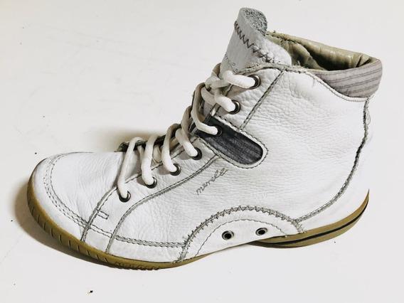 Zapatillas Botitas De Cuero Merrell