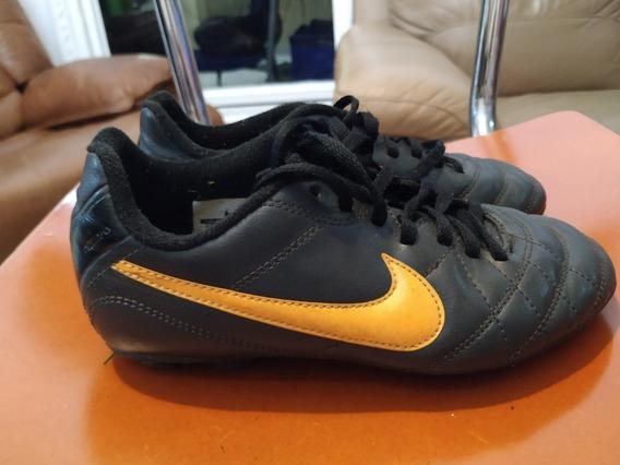 Zapatos De Fútbol Nike Tiempo Jr Original Niños