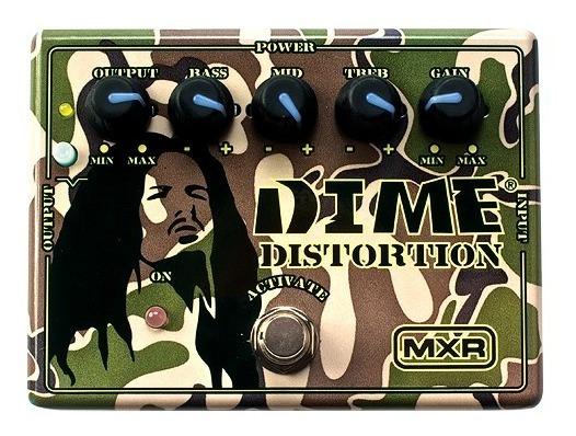 Pedal Efeito Dime Distortion Dd11 Mxr