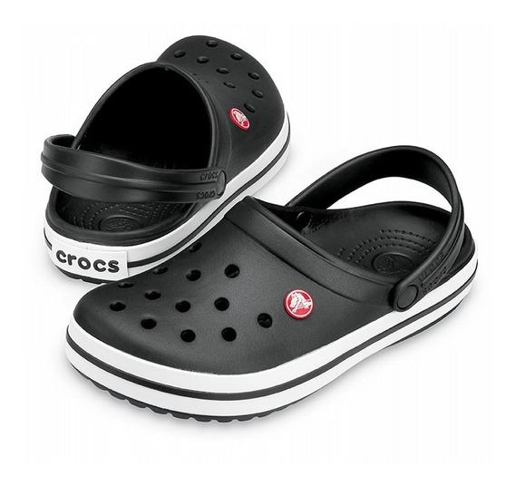 Crocs Crocband Unisex Adulto Negra Original