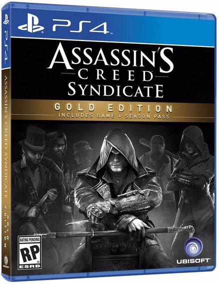 Assassins Creed Syndicate Gold Edition Ps4 2ª Digital Psn