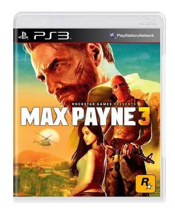 Jogo Max Payne 3 - Ps3 Mídia Física