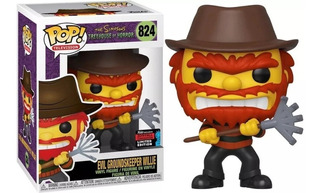 Funko Pop Evil Groundskeeper Willie 824 The Simpsons