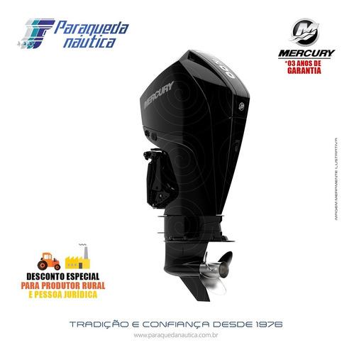 Motor De Popa Mercury 4 Tempos 200hp Cxl Efi V6 Dts Preto