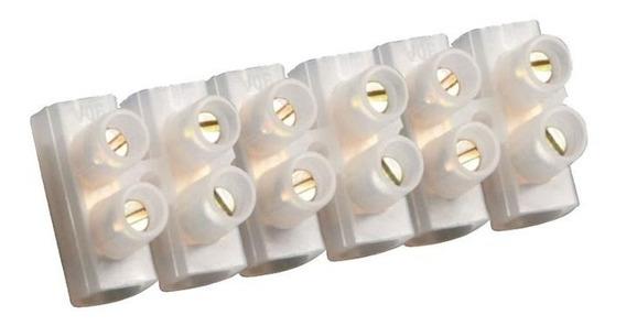 Conector Plástico Para Fio Até 10mm Branco