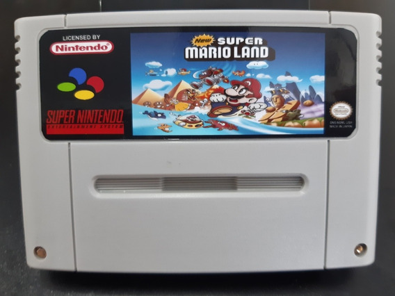 Cartucho De Super Nintendo New Super Mario Land
