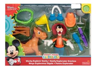 Disney Junior Mickey Club House Goofy Explorador Gracioso