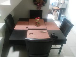 Comedor Para 4 Personas De Madera