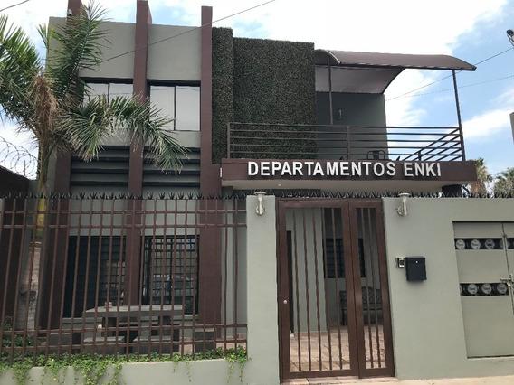 Se Renta Departamento Nuevo Amueblado En Col. Centro.