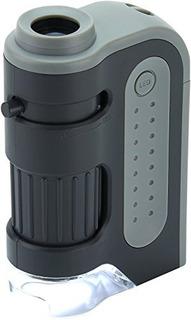 Carson Microbrite Además 60x-120x Llevaron Microscopio De