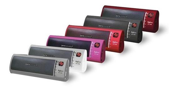 Caixa De Som Portátil Pure Acoustics Hipbox - Varias Cores