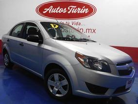 Chevrolet Aveo Ls 2017 Plata $134900 ¡¡ Excelente Estado !!
