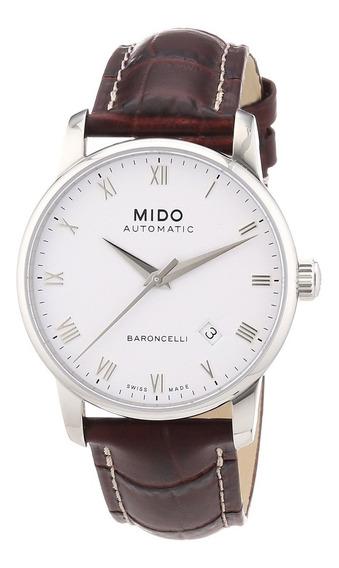 Relógio Mido Baroncelli M86004268 Automatico 38mm Couro