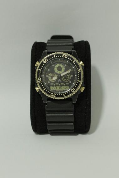 Citizen Combo Ediçao Especial Black( Jp1060,c022,c500)