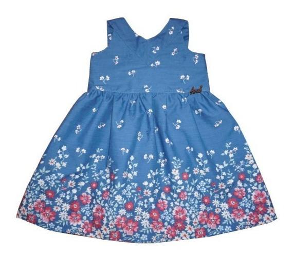 Vestido De Nenas Talle 2-6-8-10