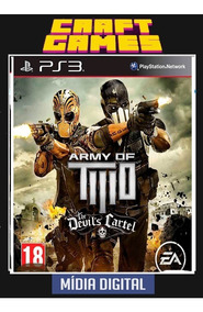 Army Of Two The Devils Cartel Psn Ps3 Envio Imediato