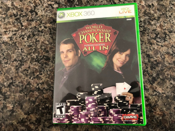 World Championship Poker Howard Lederer All In Xbox 360