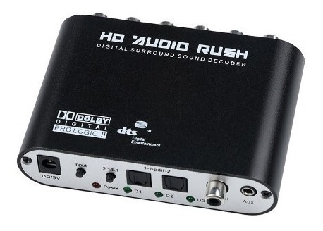 Conversor Áudio Digital 5.1 Spdif Coaxial Estéreo