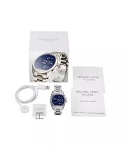 Relogio Michael Kors Mkt5012 Access Touch Digital Prata