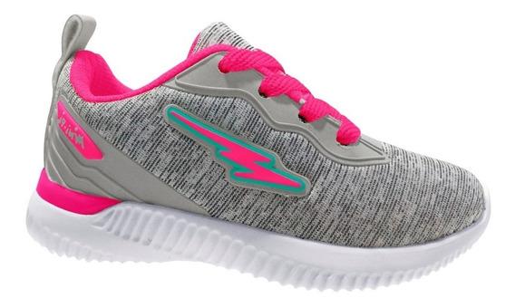 Tenis Mini-pe 04/2019 Mp1840 Gelo/pink