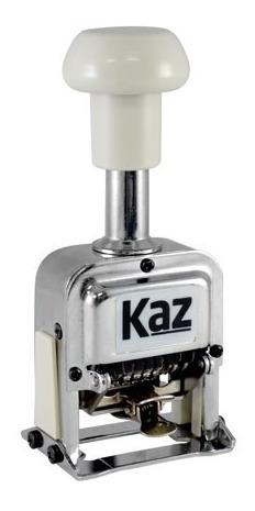 Carimbo Numerador Automático 6 Dígitos De 0 A 12 Repetições