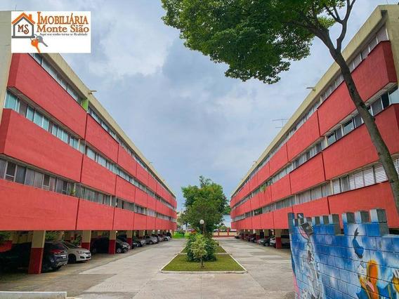 Oportunidade Apartamento Com 3 Dormitórios À Venda, 64 M² - Parque Cecap - Guarulhos/sp - Ap1509
