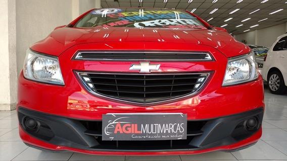 Chevrolet Prisma 1.0 Lt Único Dono 2013 Vermelho