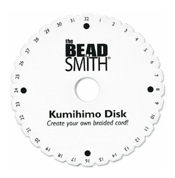 Alambrismo Disco Kumihimo