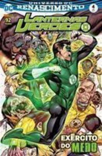 Lanternas Verdes: Renascimento - Edição 4 Julho 2017