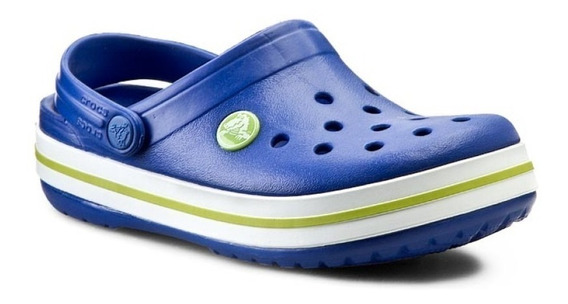 Crocs Crocband Kids Ceruleam / Volt Green
