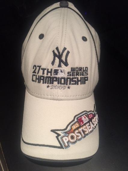 Gorra Postseason New York Yankes 27th World Serie 2009